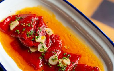 Confit piquillo peppers